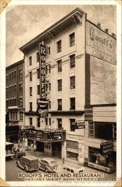 Rosoff's Restaurant and Hotel New York