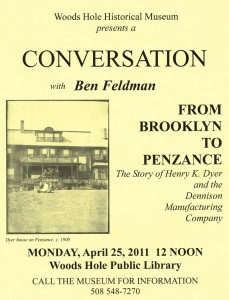 Flyer - Woods Hole Library