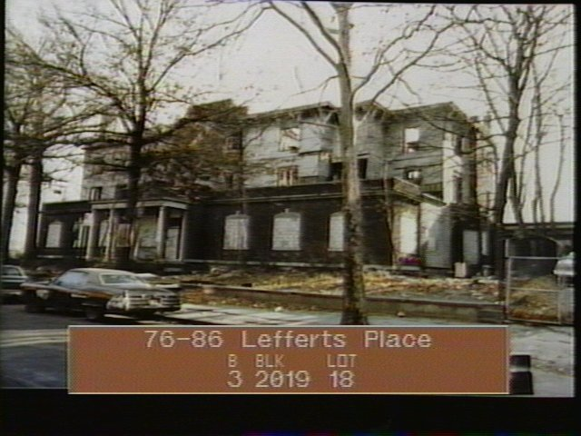 86 Lefferts Place tax lot photo 1980 ish  from Tom gordon